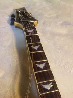6弦ギターペグから全部通す