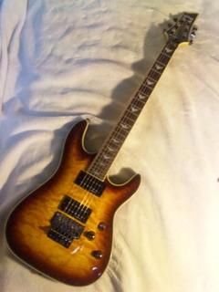 フロイドローズエレキギター弦の張り替え完成